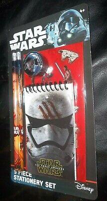 Star Wars The Force Awakens 5 Piece Stationary Set