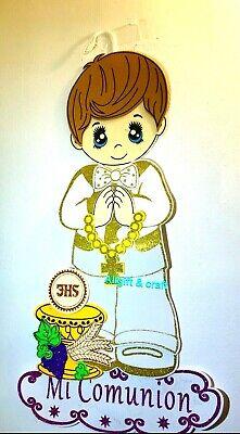 ANGELS First communion foam Wall decorations for boy Decorations De Comunión - First Communion For Boy