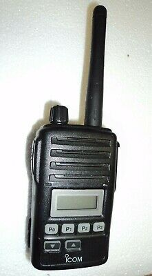 Icom F50v Vhf Portable Radio Mic 100 Tested Narrowband Fire Pager Great Deal