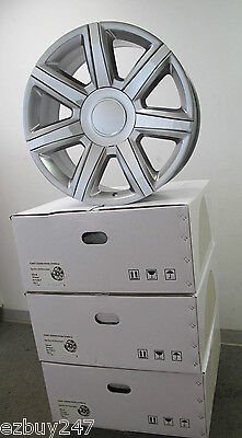 "22"" Cadillac Escalade Factory Style Hyper Silver Chrome Inserts Wheels 4739"
