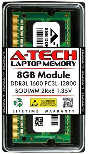 A-Tech 8GB DDR3 1600 PC3-12800 Laptop SODIMM 204-Pin Memory RAM PC3L DDR3L 1x 8G