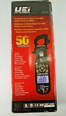 New Uei Commemorative Edition True Rms Digital Clamp Of Meter Dl489