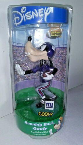 Disney Goofy New York Giants Running Back Bobblehead NFL Football