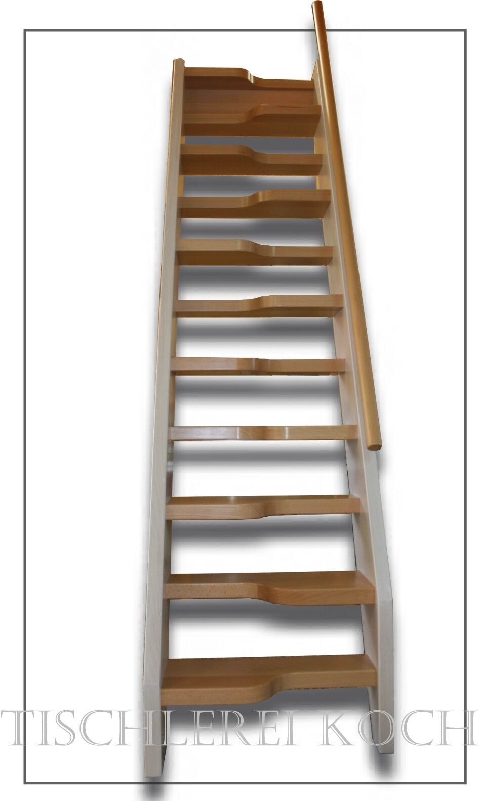 kostenvoranschlag fÜr eine kleine raumspartreppe, gerade treppe aus