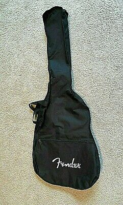 FENDER Guitar Gig Bag BLACK Back Pack Style Approx 41.5 x 16 x 4.5 inch NEW!
