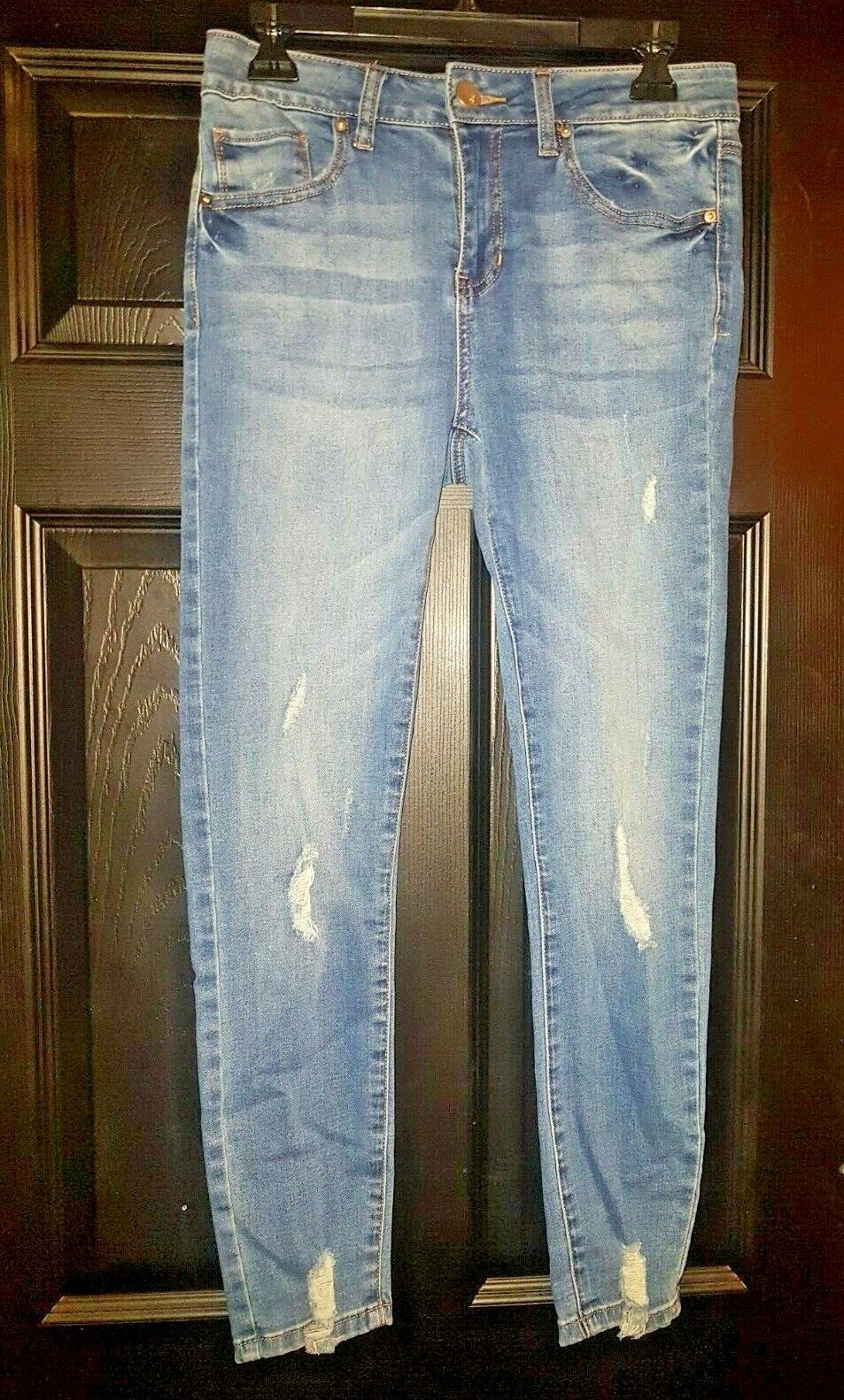 Woman's Butt I Love You Wax Jeans Size 3