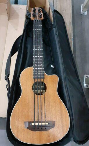 Kala U-Bass Scout, Mahogany Acoustic-Electric Bass Guitar - Natural Satin