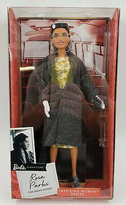 Rosa Parks Barbie Inspiring Women Doll New In Box Mattel Ready to Ship!