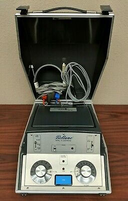 Beltone 119 Audiometer W Headphones And Response Button Free Shipping