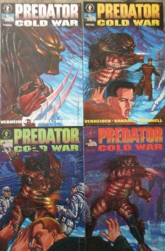 Predator Cold War #1-4 Dark Horse Comics 1991 Set