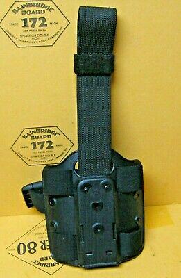 Vintage Galco International 468 LG FR Auto Gun Belt Holster Leather Brown