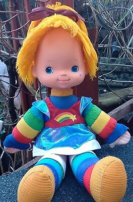 Vintage Rainbow Brite Doll 1983 Hallmark Cards Rainbow Bright