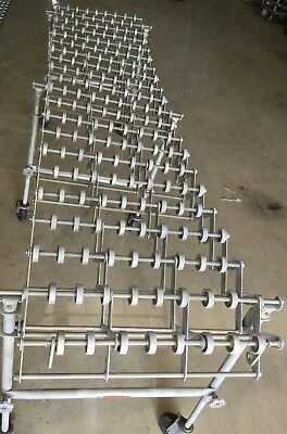 Nestaflex 175 Gravity Roller Flexible Accordian Conveyor Expandable