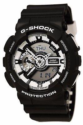 Crazy Deal New Casio G-Shock GA110BW-1A  Analog-digital 200M WR Mens Watch