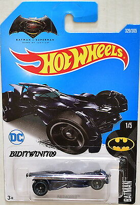 HOT WHEELS 2017 BATMAN BATMOBILE