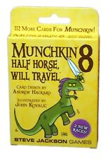Steve Jackson games, Munchkin 8 Half Horse Will Travel Exp. new and sealed