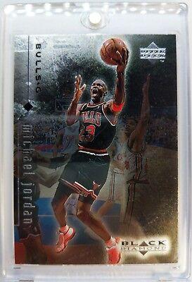 Rare Sample: 1998 98 UPPER DECK BLACK DIAMOND Michael Jordan #23, FOIL MJ, BULLS