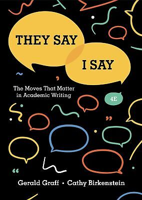 They say/I say 4th Edition -(instant download )