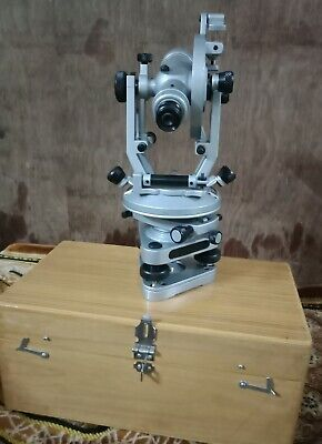 Vernier Transits Theodolite Alidade With Wooden Box Alidade Vernier Theodolite