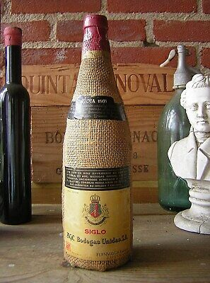 wein 1971 Siglo Sacco Gran Vino Tinto de Rioja Bodegas Age.50 Jahre Alt.2021