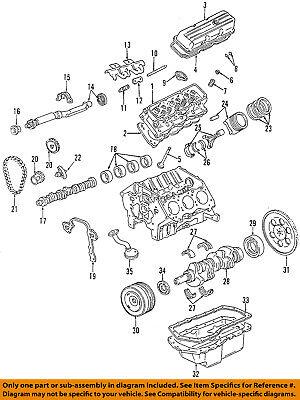 GM OEM-Engine Valve Cover 12590366