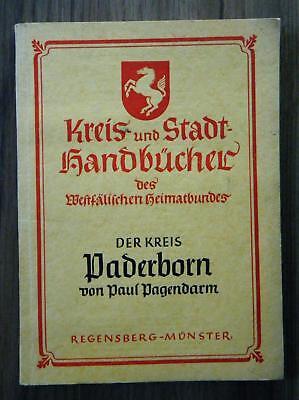 Pagendarm Kreis und Stadt Handbücher Westfälischer Heimatbund - Kreis Paderborn
