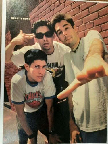 BEASTIE BOYS Full Page Pinup magazine clipping rare pic Early 1990