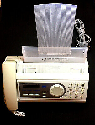 Vintage Sharp Ux-p200 Plain Paper Fax Machine Copier Easy Navigation