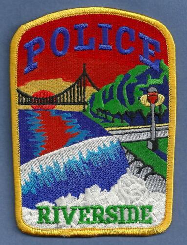 RIVERSIDE ILLINOIS SHOULDER POLICE PATCH