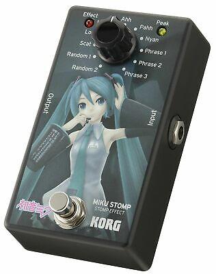 KORG Vocaloid HATSUNE MIKU STOMP Guitar Compact Effector from Japan BRAND NEW