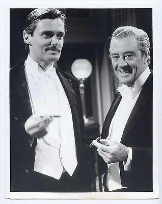 PBS 1981 UPSTAIRS, DOWNSTAIRS Original 8x10 SIMON WILLIAMS David Langton