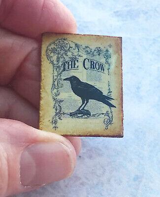 The Crow Halloween (Miniature Dollhouse Edgar Allen Poe