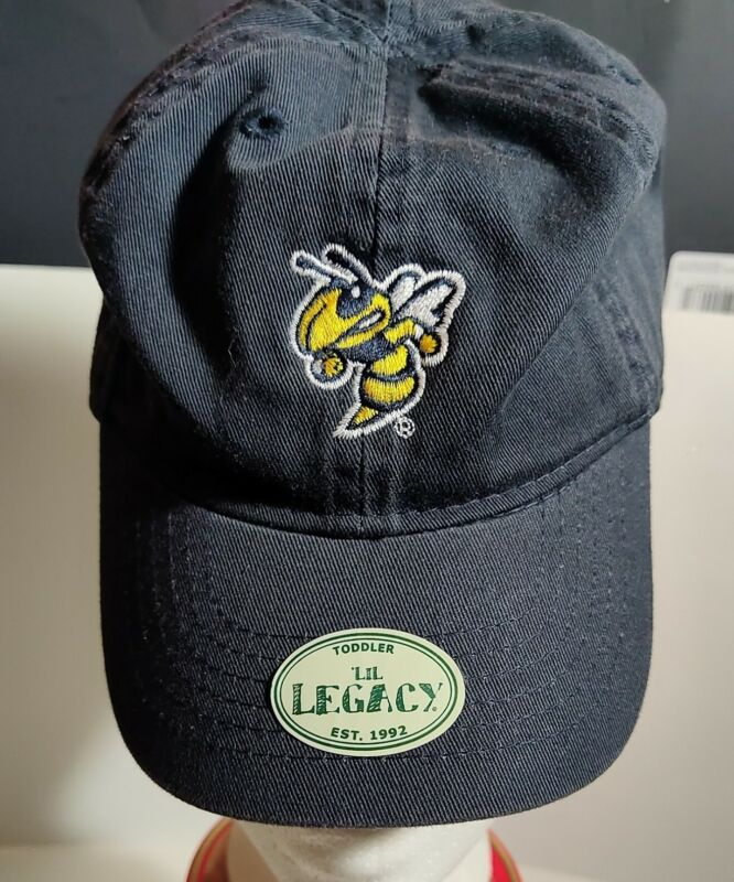 Baby Toddler Baseball Cap/Hat Georgia Institute of Technology/ Buzz/ Cotton/Navy