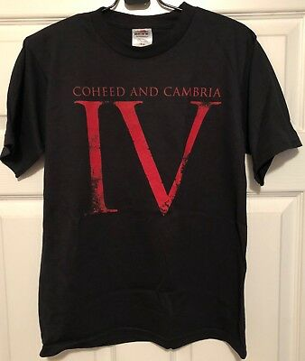 Coheed And Cambria Good Apollo, ... Star IV... RARE promo t-shirt '05 (juniors)