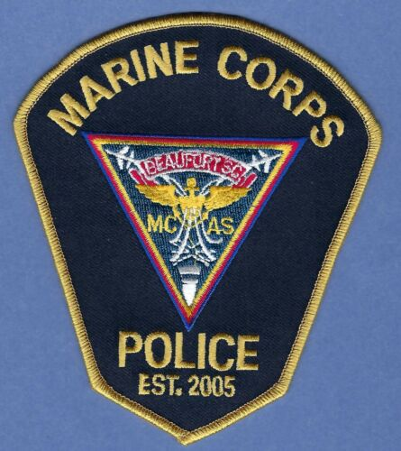 BEAUFORT MARINE CORPS AIR STATION SOUTH CAROLINA POLICE SHOULDER PATCH