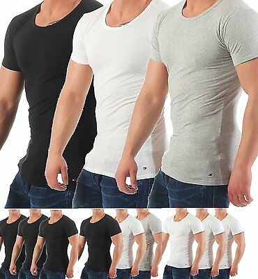 Tommy Hilfiger Premium Essentials 3er Pack T-Shirts Shirts Rundhals ()