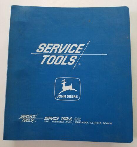 John Deere Service Tools Dealer Sales Catalogs In Binder - 1960