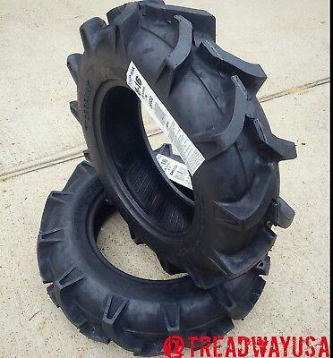 2 - 8x16 8-16 6 Ply Cropmax R-1 Superlug Tubeless Tires Farm Tractor Cm5653