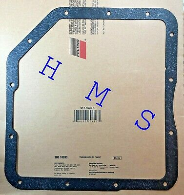 Gasket Oil Pan Set 80-85 Chevy Small Block 305 350 Passenger Side Dipstick 5882