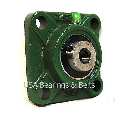 12 Square Bearing Unit Ucf201-8 Ucf 201-8 Flanged Bearing Unit