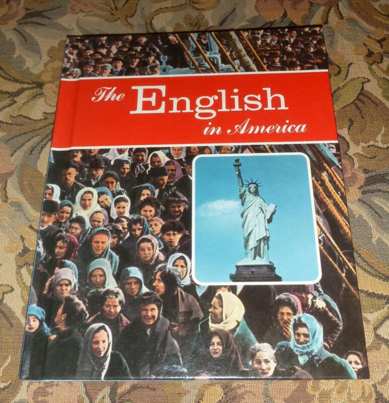 THE ENGLISH IN AMERICA by Edwin H. Cates - U.S. / England Genealogy History Book