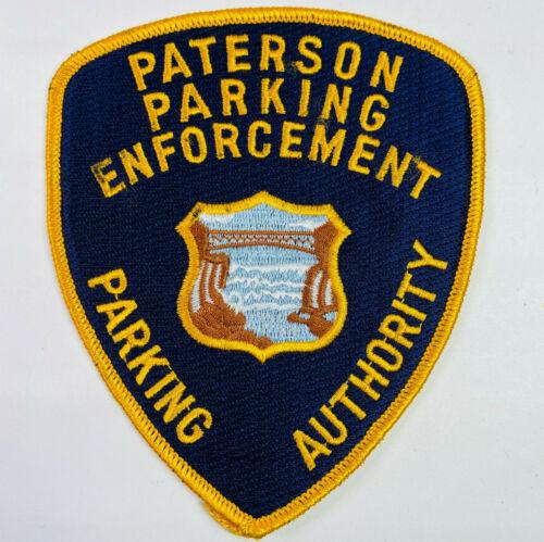 Paterson Parking Enforcement Parking Authority Passaic Co New Jersey NJ Patch B5