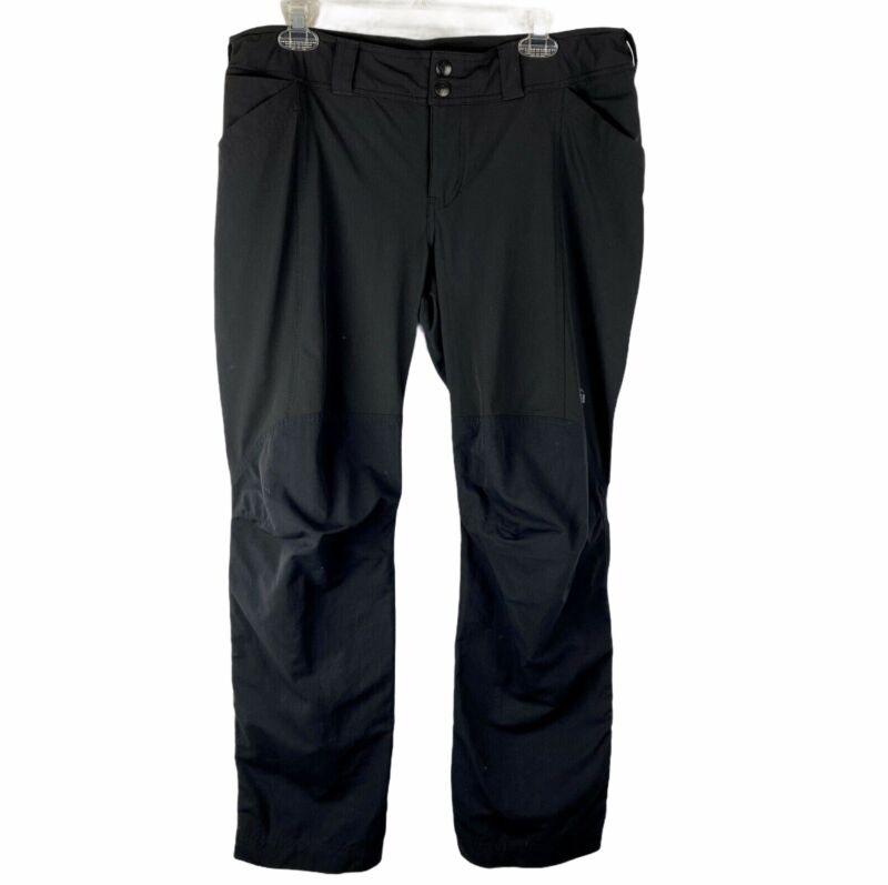 REI Outdoor Hiking Pants Size 14P Black