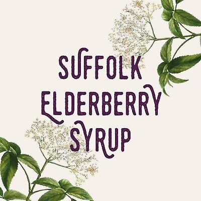 Homemade Suffolk Elderberry Syrup