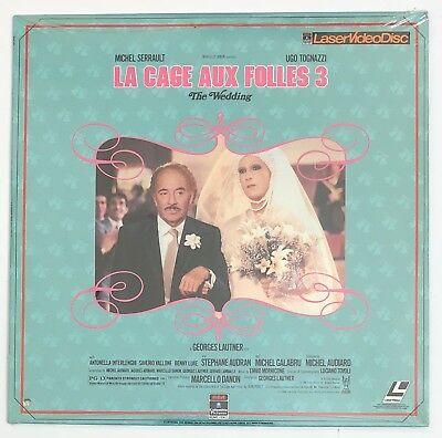 La Cage Aux Folles 3 The Wedding New SEALED Laserdisc (La Cage Aux Folles 3 The Wedding)