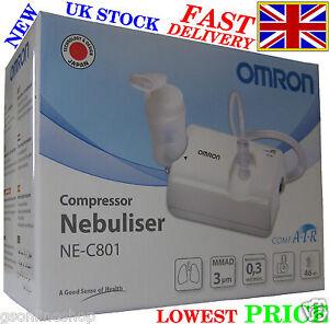 NEW-OMRON-NE-C801-COMPRESSOR-NEBULISER-FOR-ADULT-AND-KIDS-WITH-V-V-TECHNOLOGY