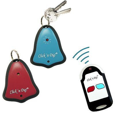 Click 'N Dig! Model D2 Key Finder. 2 Receivers. Wireless RF Item Locator. NIB.