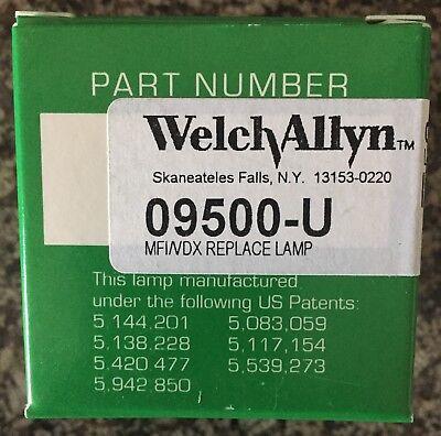 Welch Allyn 09500-u Mfi Vdx Lamp For Solarc Light New