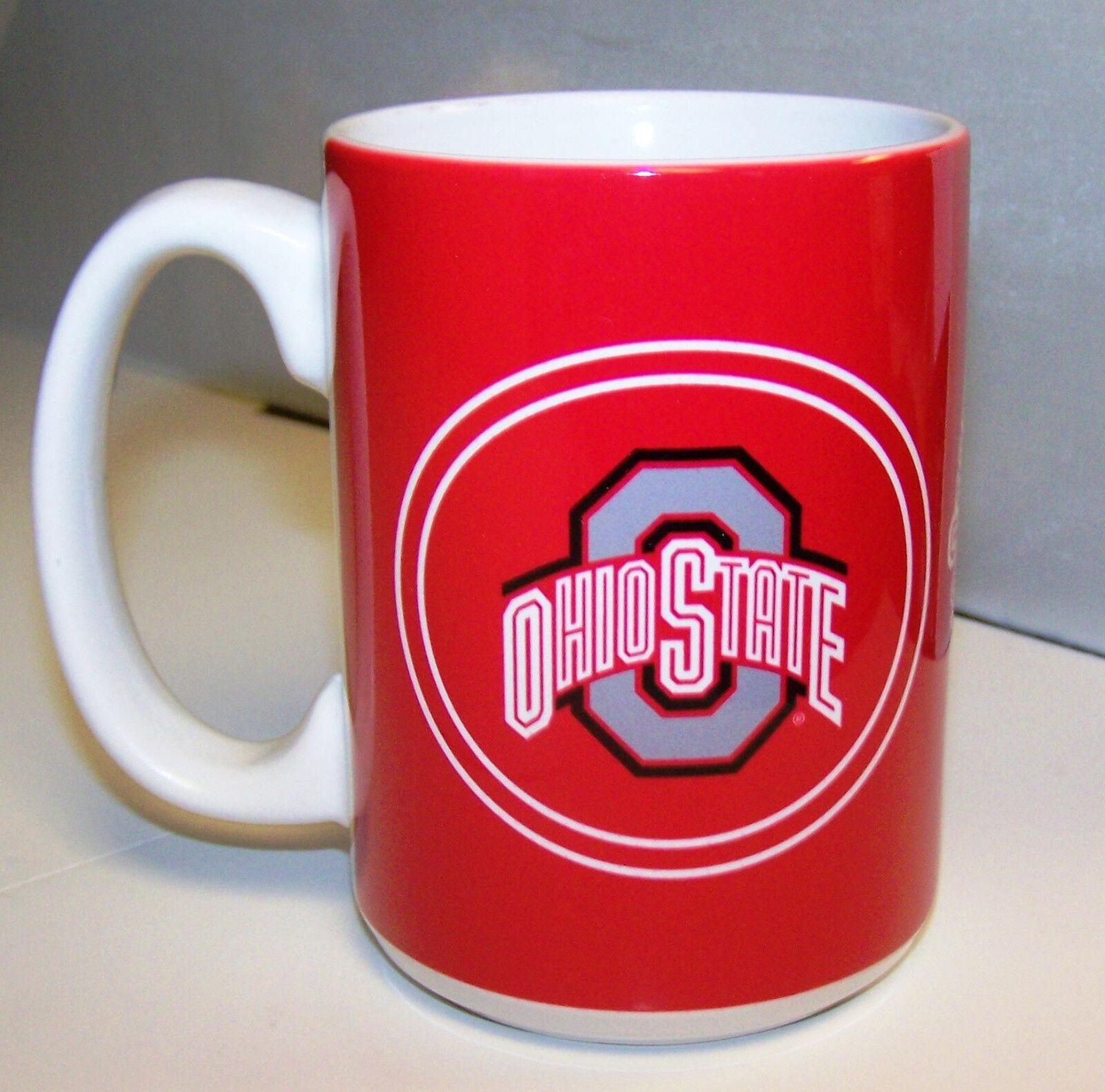 warm up style Mug Coffee Cup 1 Ohio State Buckeyes OSU NCAA 14 oz