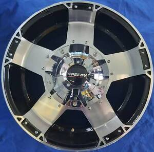 SET OF FOUR (4) SPEEDY 17x9 6/139.7 et20 MOONSHINE Nambour Maroochydore Area Preview